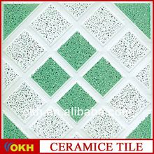 Soundproof carpet floor tiles