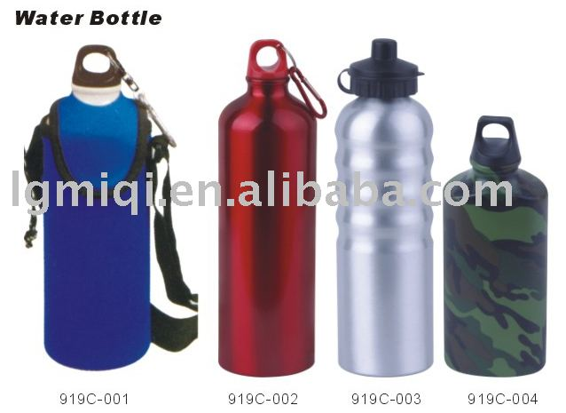 Aluminum Sports Water Bottle Drinking Bottle