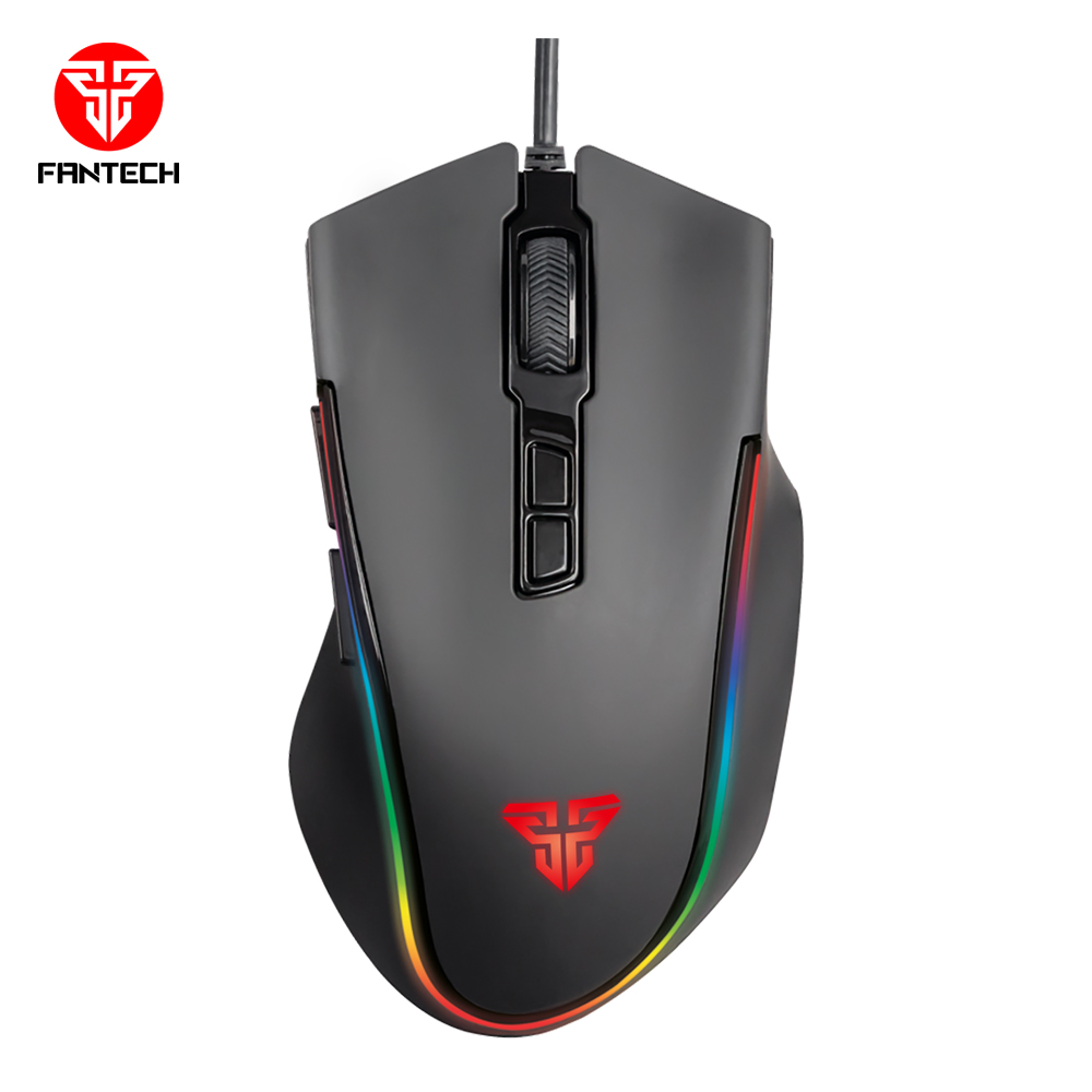 New Computer Accessory Mouses High Quality Computer Gamer 7D Wired Optical Gaming Mouse <strong>X10</strong> CYCLOPS By Fantech