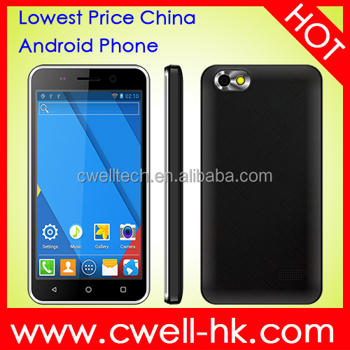 New arrival cheap big screen android phone Econ G3 dual sim mobile phone