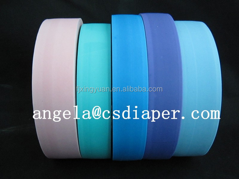 Fast easy tape for sanitary pads raw material