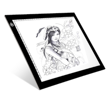 Slim LED A4 Adjustable Acrylic Graphic Painting Illuminated Drawing Tablet Tracing Writing Board For Animation Cartoon