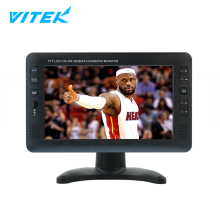 10 inch DVBT Portable TV with Digital Tuner 7 inches Mini, Low Cost Flat Screen Mini Pocket LCD LED TV HD