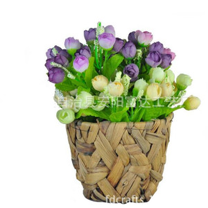 Natural water hyacinth planter home & garden tool