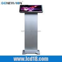 21.5 inch digital signage, 10 points capative touch ad player