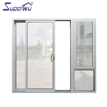 Double Glazed Soundproof Aluminum Interior Office Door With Glass