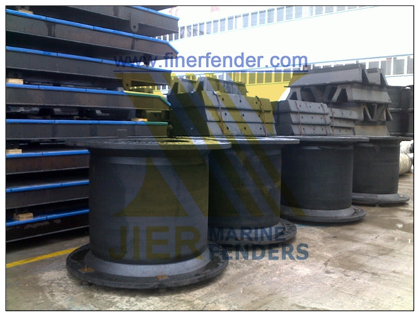 Super Cell Rubber Fender with BV/PIANC Certification