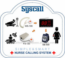 Hospital patient call button system Emergency nurse call bell