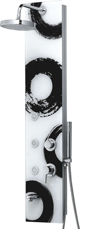 shower faucet panel with body jets jacuzzi shower spa CF-6002