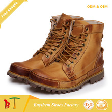 factory price men genuine leather shoes guangzhou