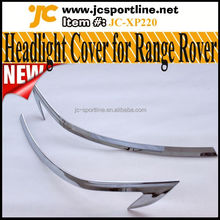 ABS Chromed Headlights Cover,Car Exterior Trims For Land Rover Range Rover Sport 13-14