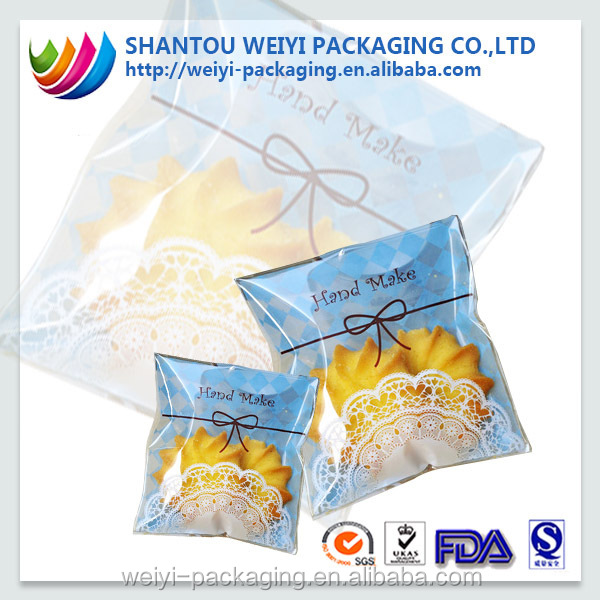 custom printed composite colored cellophane paper for food packing