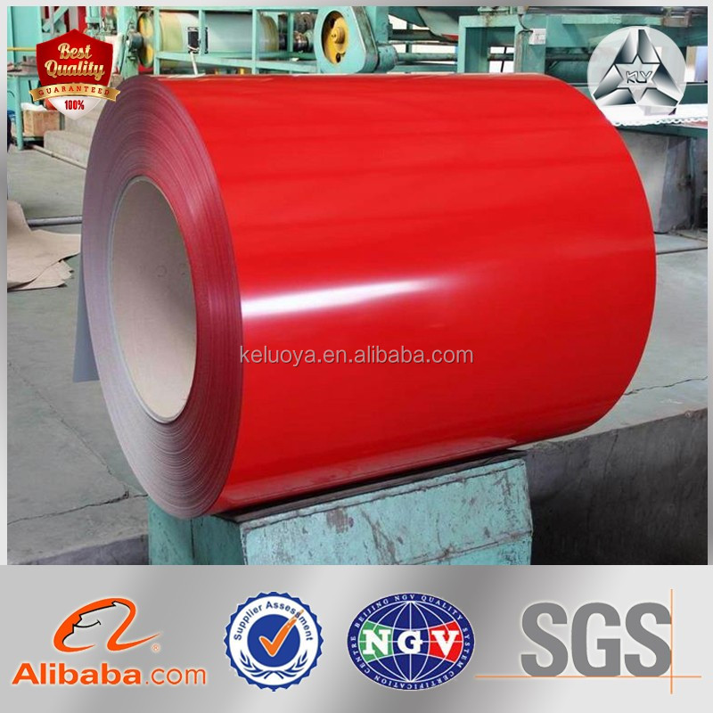 PPGI color coated Soft/Semi-hard/Hard galvanized steel coil