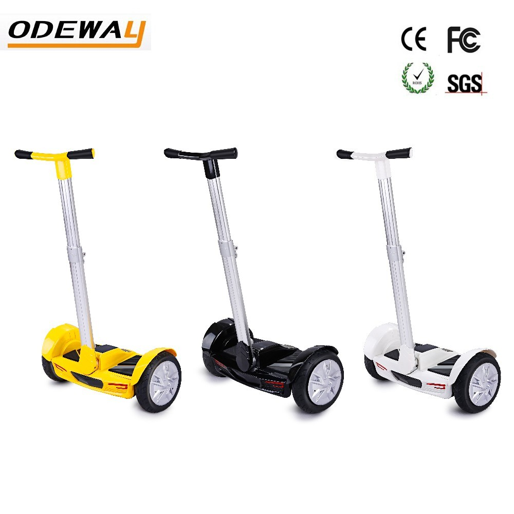 2016 10 inch Latest balance car 2 Wheel Smart Electric Self Balance Scooter with handle Hoverboard