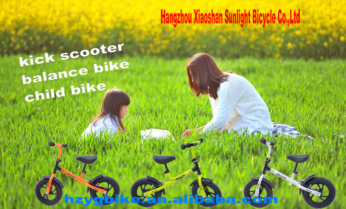 Pink Kid Bicycle for 3 Years Old Children,Push Bike for child