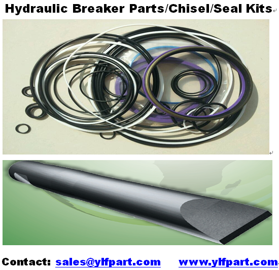 rammer hydraulic rock breaking hammer parts seal kits chisel tools S18 S21 S22 S23 S23N S25 S25N S26 S26N S27 S29 S52 S54 S55