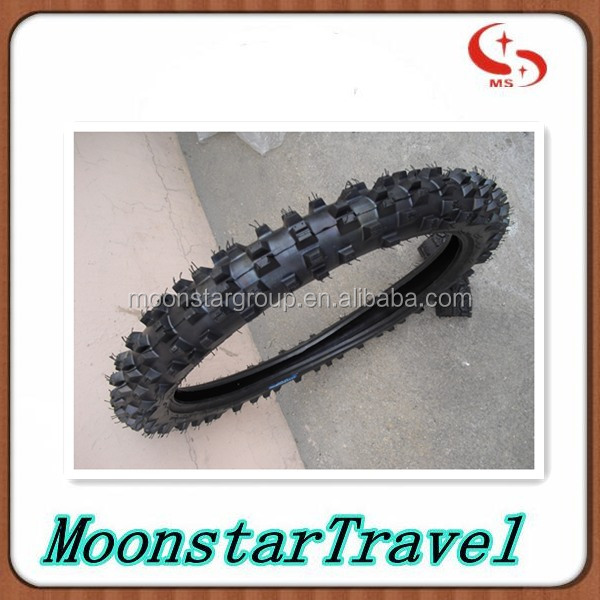 motocross tyre OFF ROAD PATTERN 80/100-21 motorcycle tire and tube