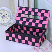 New design colorful cheap tissue box table tissue holder tissue cover