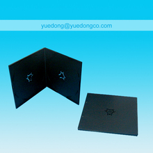 5MM SQUARE DVD CASE, DOUBLE, BLACK(YD-029-A)..YDD