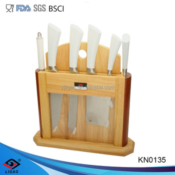 New design forged kitchen knife sets for cutter knife with cutting board