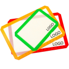 Silicone Non Stick custom logo Baking Mats with 3 Pack - 2 Half & 1 Quarter Mat