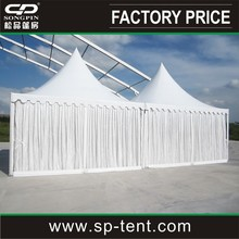 Promotional display new design luxury Chinese Pavilion pagoda tent 5x5m wholesale