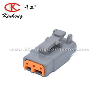 Kinkong 3 Way Female DTM Connector Automotive Connector DTM06-3S / WedgeWM3S