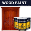 polyurethane wood paint for MDF veneer door use