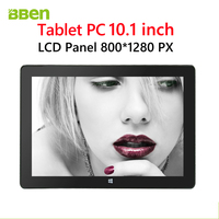 Latest 2 in 1 touch screen tablet pc 10.1 inch with windows 10 OS and Intel cherry trail quad core CPU tablet pc dual camera