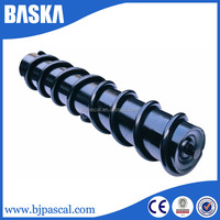 Standard or customized steel carrier roller for belt conveyor idler