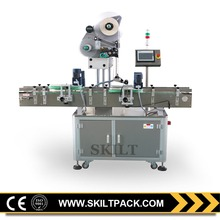 Professional automatic grain food flour bag top surface labeling machine