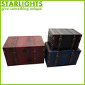 belt wooden storage linen trunk