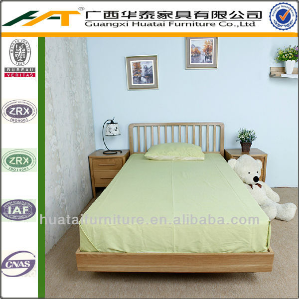 New design solid wood double bedroom bed children double bed designs