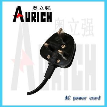 european ac power cord for Small household electrical appliances 1.5m-10m 220v 10a power cable