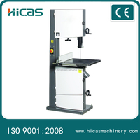 Low Price mini band saw machine for HICAS woodworking machinery
