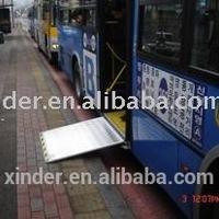 Electric Steel Wheelchair Ramp For City