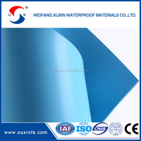 3mm clear surface PVC roll roofing sheets waterproof membrane roofing