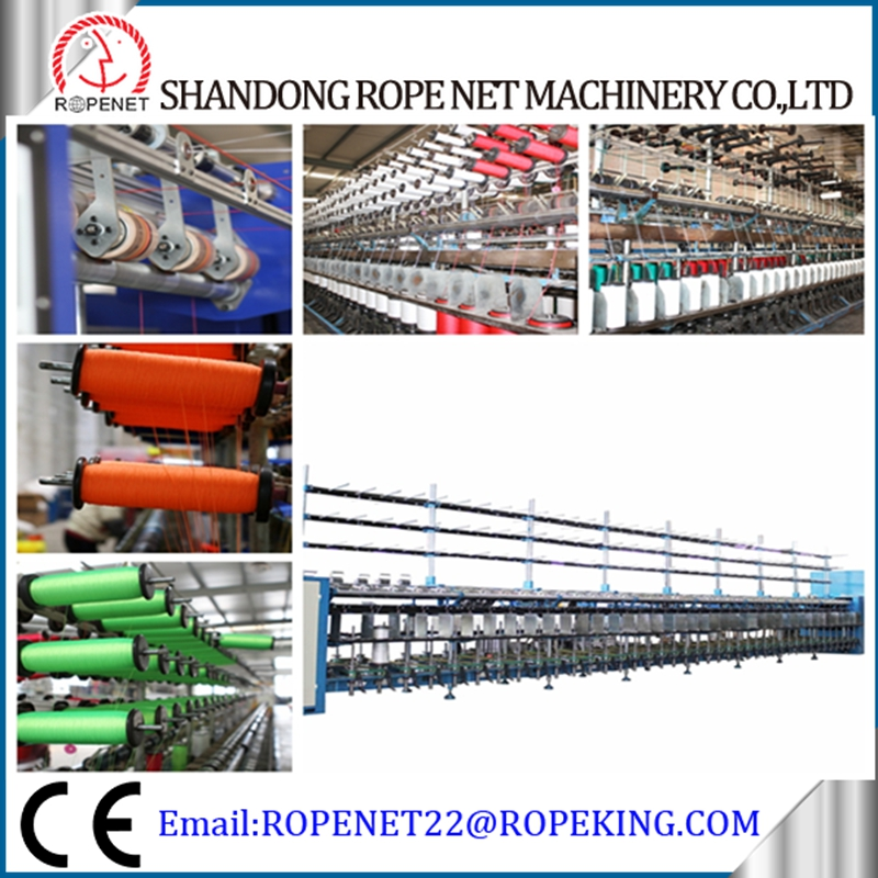 polyester making machine pp/pe/pet/cotton/sisal/jute yarn/twine/fiber rewindingmachine factory for sale