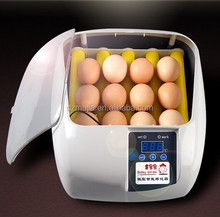 Mujia automatic 360 degree egg turning 12 eggs chicken egg incubator