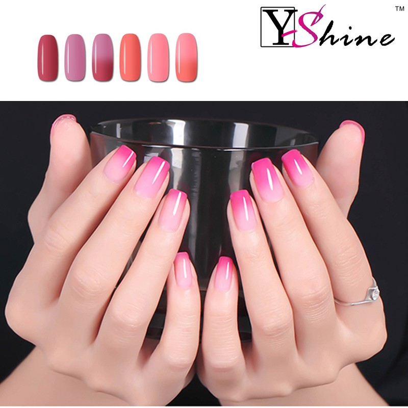 Hot Sell Temperature color changing gel polish professional gel nail polish,gel nail varnish