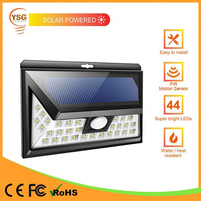 2017 New Creative IP65 Wall Mounted Solar Light With Sensor