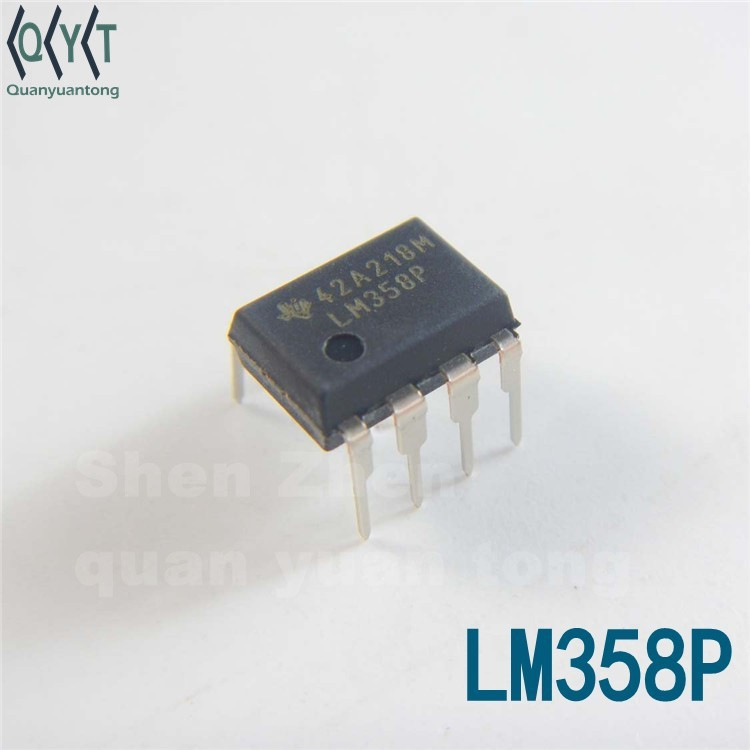 newOperational Amplifiers-Op Amps Dual Op Amp electronic IC LM358P