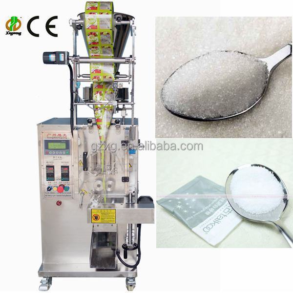 Automatic sugar packing machine for sachet bag