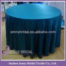 TC007A Jenny bridal polyester satin round cheap table cloth
