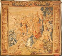 Offer super quality handicrafts antique tapestry