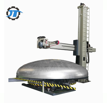 Stainless Steel Tank cover Dished End Polishing Machine