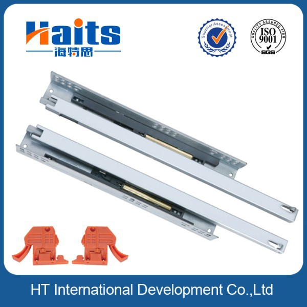 2 fold undermount soft close drawer slides