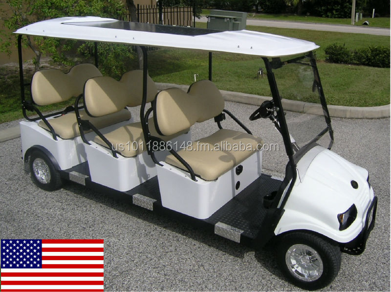 Cruise Car Brand 6P Electric All American Shuttle Cart (M6)
