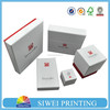 wholesale boutique logo printed recyclablegift box set reusable foldable custom made cheap