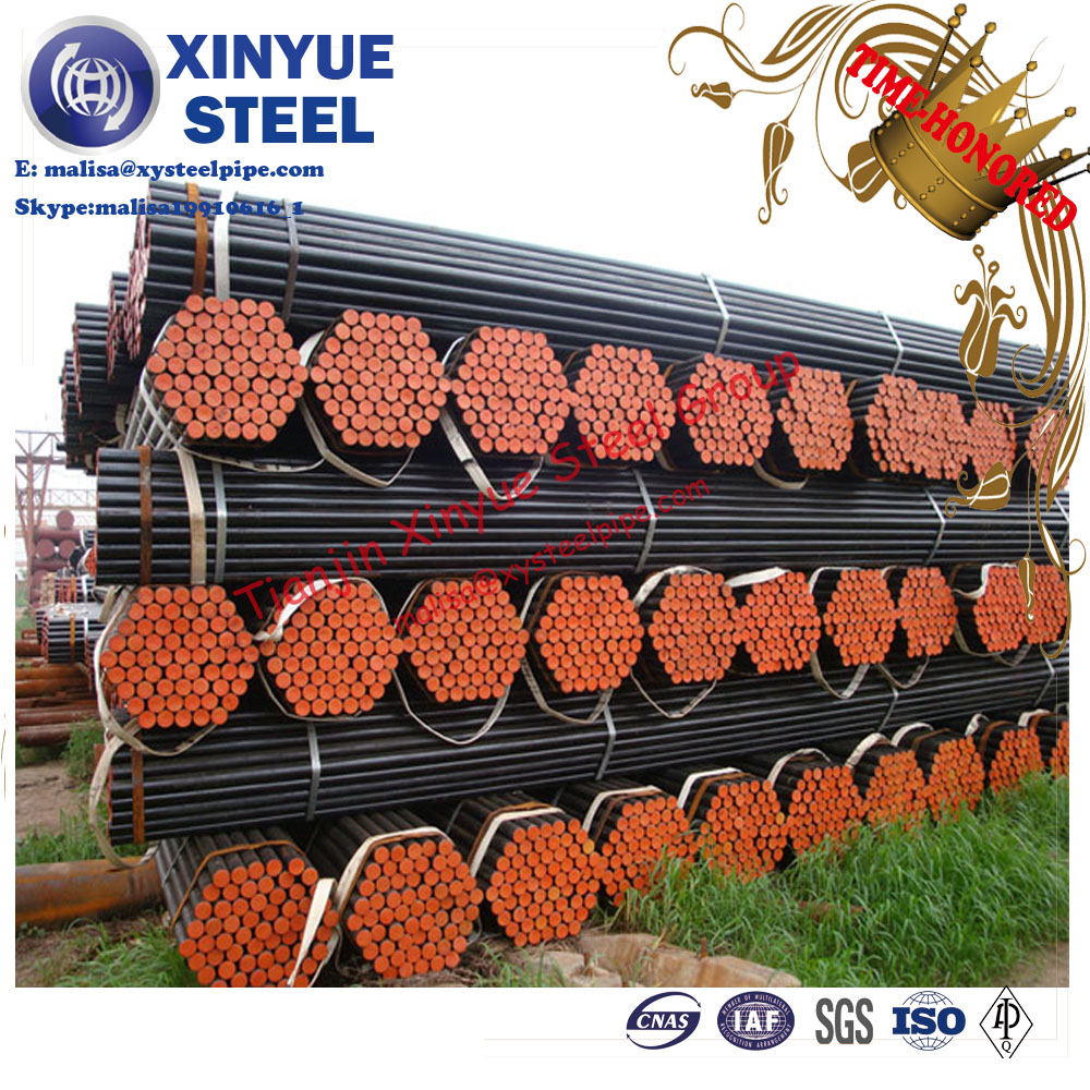carbon steel seamless pipe Astm A106 grade API 5l x42 x52 x56 x60 grb seamless line pipe
